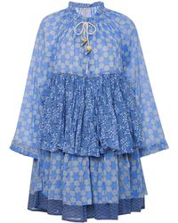 Yvonne S - Tiered Peasant Ruffle Dress - Lyst