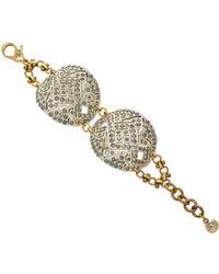 Lulu Frost - One-of-a-kind Round Art Deco Buckle Bracelet - Lyst