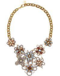 Erickson Beamon - Wild Flower Crystal Necklace - Lyst