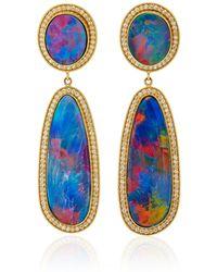 Andrea Fohrman - One-of-a-kind Kat Australian Opal Earrings - Lyst