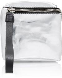Proenza Schouler - Mini Cube Metallic Leather Bag - Lyst