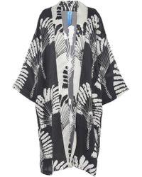 Rianna + Nina - Evening Silk Kimono Coat - Lyst
