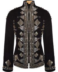Nadya Shah - Elena Velvet Jacket - Lyst