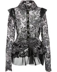 Nina Tiari - Lacie Button Up Blouse - Lyst