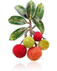 Luz Camino - Strawberry Tree Brooch - Lyst