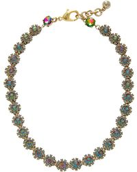 Lulu Frost - Beam Gold-plated Crystal Necklace - Lyst
