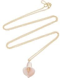 Annette Ferdinandsen - 18k Gold Mother-of-pearl Necklace - Lyst