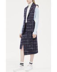 Mrz - Plaid Asymmetric Wrap Skirt - Lyst