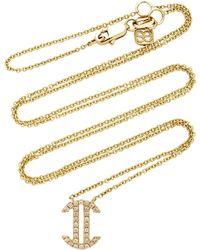 Sydney Evan - Pave Gemini Zodiac Sign Necklace - Lyst