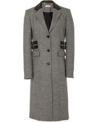 Altuzarra - Annie Plaid Wool-blend Coat - Lyst