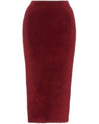 Mrz - Ribbed Knit Skirt - Lyst