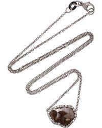Kimberly Mcdonald - 18k White Gold Diamond Necklace - Lyst