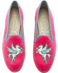 Stubbs & Wootton - M'o Exclusive: Pegasus Carise Loafer - Lyst