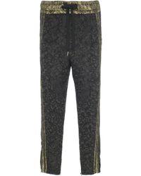 69fee0f72753 Dolce   Gabbana - Jacquard Drawstring Pants - Lyst