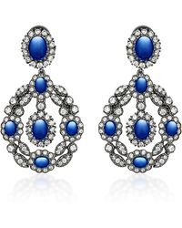 Anabela Chan - M'o Exclusive Treasure Sapphire Earrings - Lyst