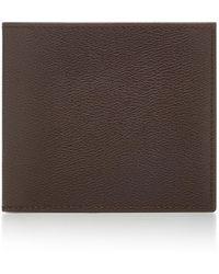Smythson - Grosvenor Textured-leather Billfold Wallet - Lyst