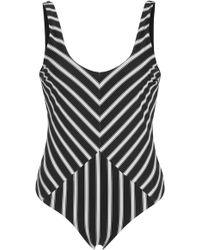 Tori Praver Swimwear | Genevie Cheeky One Piece Swimsuit | Lyst