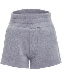 The Elder Statesman - M'o Exclusive Heavy Knit Short Shorts - Lyst