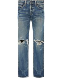Simon Miller - Skinny-fit Distressed Jeans - Lyst