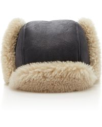 Isabel Marant - Airy Shearling Hat - Lyst