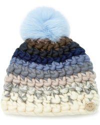 Mischa Lampert - Striped Beanie Hat - Lyst