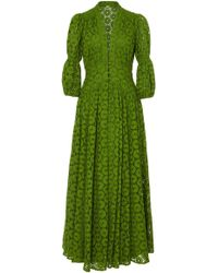 Cult Gaia - Willow Cotton Lace Maxi Dress - Lyst