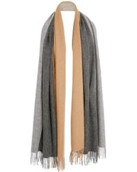 DONNI. - Trio Colorblock Wool Scarf - Lyst