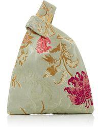 Hayward - Mini Venetian Silk-jacquard Shopper Tote - Lyst