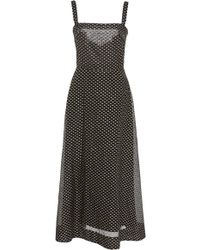Lein - Dotted Circle Dress - Lyst