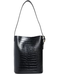 Parisa Wang - Allured Croc Embossed Leather Tote Bag - Lyst