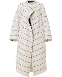 Dorothee Schumacher - Striped Allure Coat - Lyst