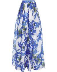Carolina Herrera   Mimosa Organza Ball Skirt   Lyst