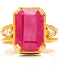 Holly Dyment - Gemfields X Muse Empress Ring - Lyst