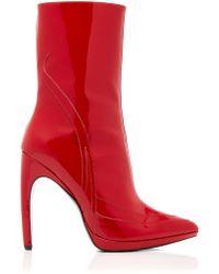 Rodarte - Patent Ankle Boot - Lyst