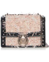 Balmain - Studded Box Flap Bag - Lyst