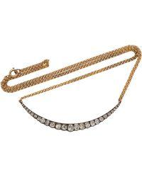 Toni + Chloë Goutal - Jennifer One-of-a-kind Gold And Diamond Necklace - Lyst
