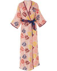Carolina K - Lourdes Silk Kimono - Lyst