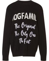 Dolce & Gabbana - Dg Family Cashmere-blend Sweater - Lyst
