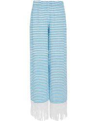 Jaline - Tallulah Handwoven Cotton Pants - Lyst