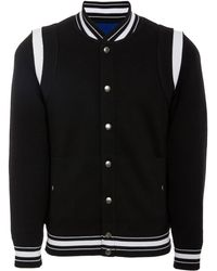 Givenchy Teddy Logo Wool Embroidered Lyst Jacket Varsity zzZPxHpw