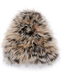 Gigi Burris Millinery - Narcissa Fox Fur Cap - Lyst