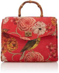 Glorinha Paranagua - Bird Velvet Rosita Bag - Lyst