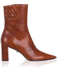 Dorothee Schumacher - Quilted Leather Ankle Boots - Lyst