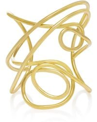 Joanna Laura Constantine - Gold-plated Multi Knot Cuff - Lyst