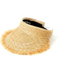 Awesome Needs - Straw Sun Visor - Lyst