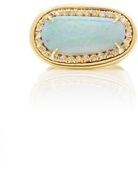 Kimberly Mcdonald | One-of-a-kind Crystal Opal Dome Ring | Lyst