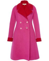Emilio Pucci | Double Breasted Coat | Lyst