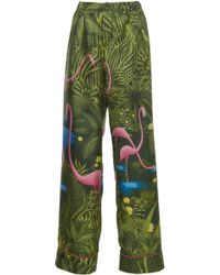 For Restless Sleepers   Etere Print Pyjama Trousers   Lyst