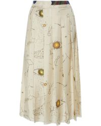La Prestic Ouiston | Gina Pleated Skirt | Lyst