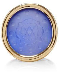 Asha - Bespoke Quarterfoil Initial Ring - Lyst